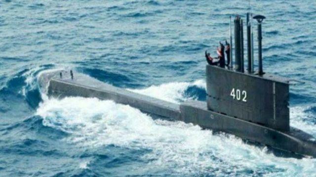 Kapal Selam Nanggala 402 Hilang Kontak