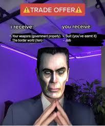 Kumpulan Trade Offer Meme Terbaru