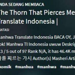 The Thorn That Pierces Me wattpad Full Episode