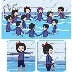 permainan pinguin dan singa laut saat di kolam air cara bermainnya mirip dengan permainan