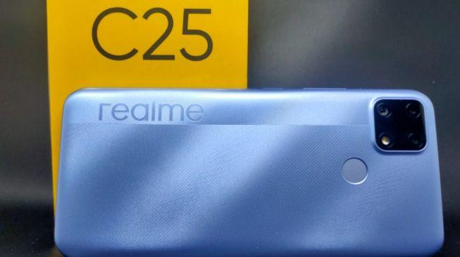 Spesifikasi Ponsel Realme C25S 2021