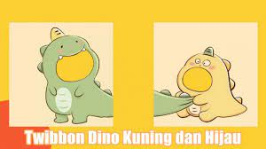 Twibbon Lucu Dinosaurus Bucin Dinosaurus Viral Tik Tok 2021